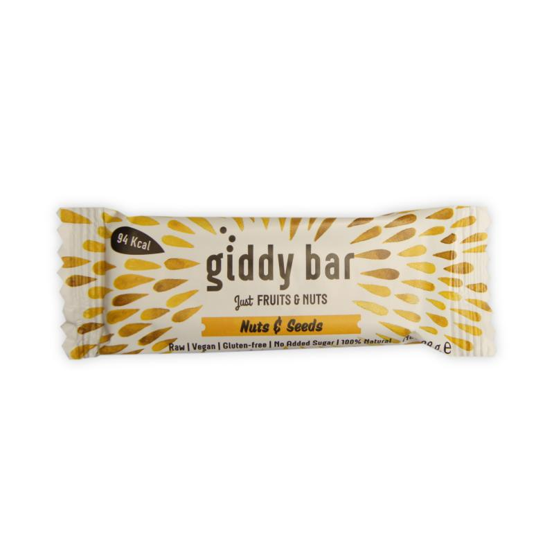 Giddy Bar Nuts&Seeds